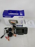 Lowrance HOOK 2 4X GPS Plotter Fishfinder Tested. Works. F5