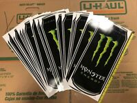 Monster Energy Drink Sticker Decal Wholesale Resale Lot Of 17