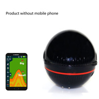 Portable Sonar Fish Finder Wireless 48M Depth Lake Fish Detector for iOS Android