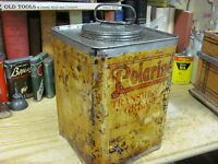 POLARINE TRANSMISSION GREASE STANDARD OIL CO CAN EARLY 1900'S ORIGINAL RARE 10Lb