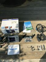Lowrance HDS 5 Gen 2 Nautic Insight GPS Fishfinder with Transducer 50/200KHZ