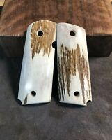 Stag 1911 grips elk for compact 1911 grips