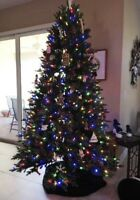 GE Christmas tree With Lights -$230 From Cosco