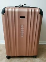 Brand New Kenneth Cole New York Saddle Rock Rose Gold Upright Suitcase 29quot;