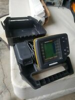 Humminbird Wide 100 Portable Fish Finder With Case and batteries kayak