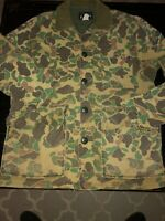 "Vintage Men's Browning ""Sportsman's Apparel"" Camo hunting coat frogskin Talon M"