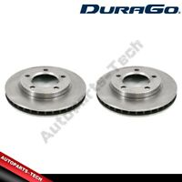 2x DuraGo Front Disc Brake Rotor For 1974-1980 International Harvester Scout II