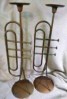 Candle Holder Trumpet Clarinet 24