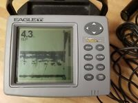 Eagle FishMark 480 Fishfinder w/ Transducer, Head Unit Mount No Battery