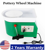 110V/350W Pottery Forming Machine Electric Pottery Wheel DIY Clay Potter Art Too
