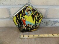 Horner Dainty Dinah Hunt Image Toffee Tin c1930s