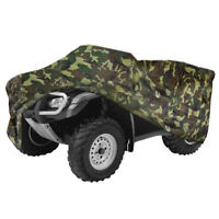 Camouflage Quad ATV 4 Wheeler Storage Cover Fit For Polaris Sportsman 500 600 LO