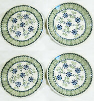 Boleslawiec Polish Pottery Salad Plate SET of 4, 7