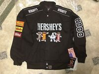 Hershey's Chocolate Vintage JACKET MINT NWT USA made xl Reese's kiss
