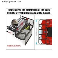 ATV Rear Cargo Basket with Rear Drop gate for Easy equipment loading