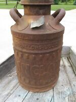 SINCLAIR Oil Can 5 Gallon RARE Original Embossed Metal Refinery Can FREE SHIP