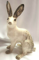 **Jenny Winstanley Arctic Hare Size 6 Cathedral Glass Eyes Signed - New**