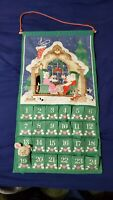 Vintage 1987 AVON COUNTDOWN  to CHRISTMAS ADVENT CALENDAR WITH MOUSE GREAT!!