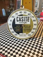 Vintage Gas & Oil Casite Thermometer