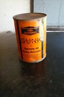 RARE VINTAGE 1929 FULL HARLEY DAVIDSON GUNK OIL METAL CAN 1 Pint MOTORCYCLE
