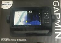 Garmin echoMAP PLUS 63cv with US LakeVu g3 and GT20-TM Transducer 010-01889-05