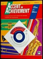 ACCENT ON ACHIEVEMENT Bass Clarinet Book 2 with CD