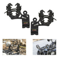 ATV Gun Bow Rack Double Grips Rifle Mount Shotgun Pole UTV Holder Automotive
