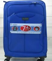 Ricardo Beverly Hills  21-inch Carry-On Suitcase Luggage Blue 7.4 lbs Spinner