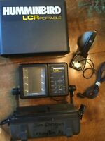 Humminbird LCR Portable Fish Finder Unit, Transducer, Hard Case