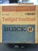 Buick Twilight Sentinel NOS 981467 GM A-Body Oldsmobile Night Watch