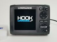 Lowrance Hook-5 CHIRP with Transducer - GPS Chartplotter and Fishfinder