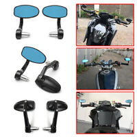 "7 8"" Universal Bar End Rearview Side Mirrors For Yamaha FZ8 MT10 MT09 MT07 FZ09 $35.99"