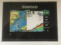 Simrad GO5 XSE Fishfinder Chartplotter with TotalScan Transducer 000-12675-001