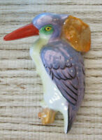 Kingfisher Made in Japan Lustreware Wall Pocket