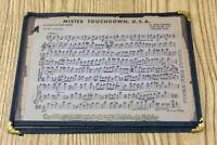 Music Sheets 1950 1st B Clarinet Stars and Stripes Forever Mister Touchdown