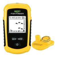 Assisted Fishing Wireless Sonar Colorful Screen Fish Finder Fishing H1PS