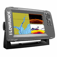 Lowrance HOOK2 7in SplitShot Transducer and US / Canada Nav plus Maps Fishfinder
