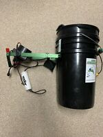 Used VEXILAR FL 8SE FLasher Ice Hopper Fish Bucket Padded Seat Battery Charger