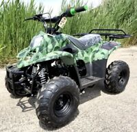 110cc Kids Youth Atv Quad Four Wheeler Sport 4 Wheeler With Remote Kill New