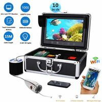 Underwater Fishing Video Camera Kit Fish Finder Wireless Supports Video Record