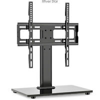 Universal TV Stand with Swivel Mount Pedestal Base for 27 55quot; TVs $32.62