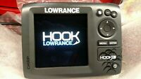 Lowrance Hook 5 Chirp Fishfinder, GPS Chart Plotter With Inland Maps
