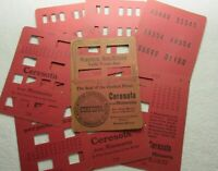 1904 CERESOTA FLOUR ADVERTISING 8 CARDS MIND READER GAME TELLS YOUR AGE MN