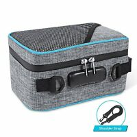 Smell Proof Bag with Combination Lock Odor Proof Stash Case Container