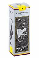 Vandoren SR623 Tenor Sax V.12 Reeds Strength 3; Box of 5