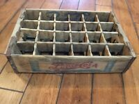 Rare Double Dot Vintage Pepsi Cola wood Crate Sections