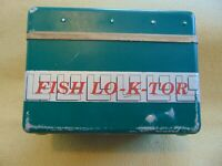 Vintage Fish Lo-K-Tor Fishing Tool Retro Lowrance Locator Detector Portable LOOK