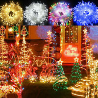 Fairy String Lights 100-1000 LED Clear Cable for Christmas Tree Indoor