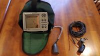 Eagle FishMark 320 Fishfinder with 2 Transducers and Portable Ice Fishing Kit