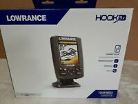 Lowrance Hook 3X Color Fishfinder With 83/200 Transducer  NIB